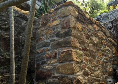 Sandstone wall - SR Brick and Stonework