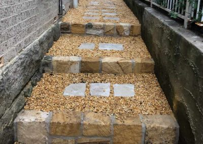 Sandstone pathway - SR Brick and Stonework