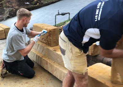 Dressing sandstone - SR Brick and Stonework
